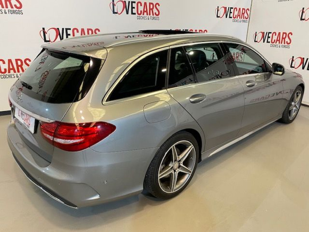 MERCEDES CLASE C 220 D AUTOM. BREAK AMG  TECHO 170