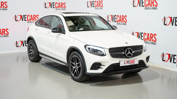 MERCEDES GLC COUPE 250 D AMG FASCINATION TECHO 205