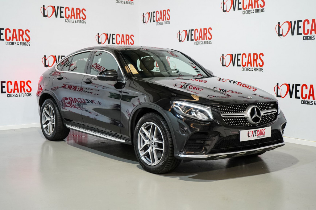 MERCEDES GLC COUPE 250 D PACK AMG 4MATIC TECHO 205