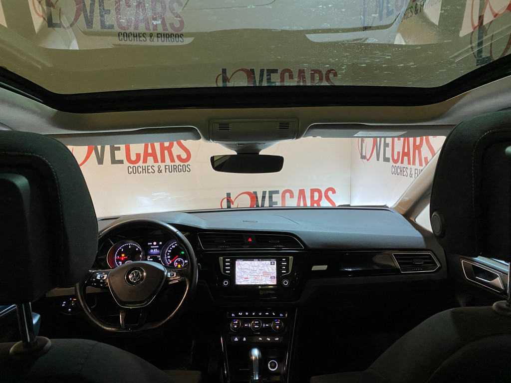 VOLKSWAGEN TOURAN 2.0 TDI HIGHLINE AUTOM. PACK R-LINE TECHO 150